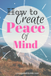 How to Create inner Peace