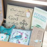 The butterfly box is perfect for you when you realize that with the business of life, your intimacy with Christ can suffer, so the butterfly box brings quiet moments with God to you!