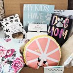 A subscription box for dog moms! Each box will come with carefully picked items geared to the dog mom and for the doggy!